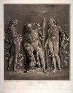 Mars, Venus and Diana.