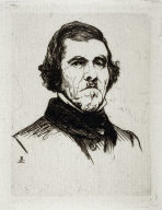Portrait of Eugene Delacroix
