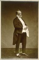 Portrait of Henry Bonaventure Monnier as M. Prudhomme
