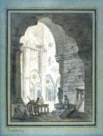 Scene Inside a Parisian Church