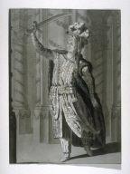 "Costume design for Racine's ""Mahomet"""