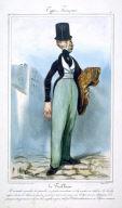 Le Tailleur, pl. 2 from the series Types Français