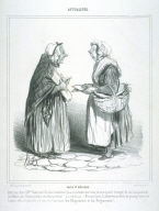 POIDS ET M?SURES, from the series ACTUALITÉS published in La Caricature 2 February 1840