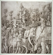 The Elephants, from the series The Triumphs of Caesar, after the paintings for the Palazzo Ducale of Mantua, now in Hampton Court Palace, England