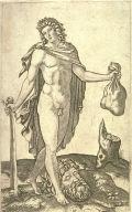 David and the Head of Goliath, after Francesco Francia (?)