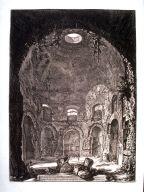 Veduta interna del Tempio della Tosse (Interior view of the Tempio della Tosse)