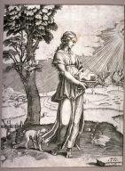 The Cumaean Sibyl, after Raphael