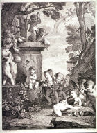 Landscape with Cupids at a Fountain