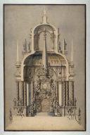 Design for a Castrum Doloris In Memory of the Holy Roman Emperor Joseph I (d. 1711)