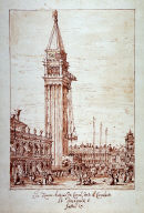 Piazzetta with Campanile under Construction