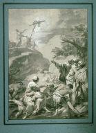 Moses Raising the Brazen Serpent