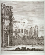The Arch of Constantine, from the series Six Large Views of Rome and the Countryside