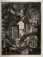 The Round Tower, plate III, from the series Carceri