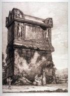Veduta del Gran Sepolcro volgarmente detto di Nerone (Nero's Tomb)