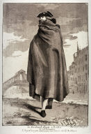 Le Marchand allant à Rialto, plate 12 from the series Divers Portraits