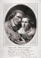 Double portrait of Antonio Canova and Giovanni Martino dei Boni