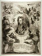Portrait of Ferdinando Galli Bibiena, frontispiece from his Varie Opere Prospettiva