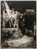 The Descent from the Cross by Torchlight
