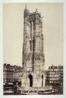 #12 Tour de St. Jacques from 11 albumen prints from Vues de Paris en Photographie, 1858