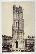 #12 Tour de St. Jacques from 11 albumen prints from Vues de Paris en Photographie, 1858