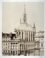 #28 Sainte-Chapelle from 11 albumen prints from Vues de Paris en Photographie, 1858