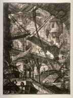 The Drawbridge, pl. VII from the series, Carceri (Prisons)