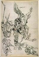 Chinese Warrior on Horseback