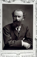 Edouard Manet, fifty-eighth plate in this bound selection of 81 illustrated essays from the series,Galerie contemporaine, littéraire, artistique