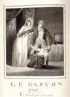 Le gascon puni, page 230 of the book, Mon passe-tems dédié à moi-même , vol.2