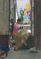 Girl in the Window