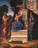 The Madonna and Child with Saint John the Baptist and Saint George