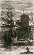Sailing ships on dock