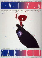 Viva Cartel! Exposicion de Michel Bouvet en la Casa sel Poeta