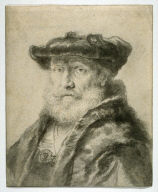 Bearded Old Man With Beret