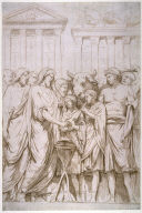 Study of Sculptural Relief, Capitoline Gallery, Rome