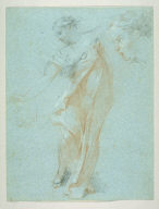 Studies of Draped Female Figure