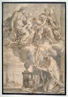 Vision of a Bishop (altarpiece design)