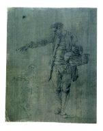 Studies of a Standing Male Figure (Fisherman)