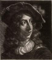 Prince Rupert von der Pfalz, [after a print of his (presumed) self-portrait]