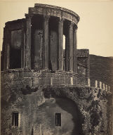 Temple of the Sibyl, Tivoli - on a larger scale.