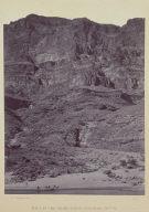Wall in the Grand Canon, Colorado River.