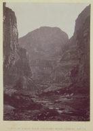 Canon of Kanab Wash, Colorado River, Looking South.