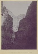 Limestone Walls, Kanab Wash, Colorado River.