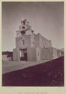 The Church of San Miguel, The Oldest in Santa Fe, N. M.