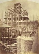 Scaffolding, Paris Opera construction