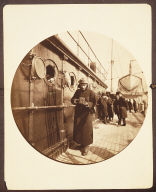 George Eastman on board S.S. Gallia