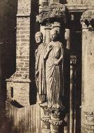 Cathedral de Chartres, Grandes Figures des Pilastres du Portail