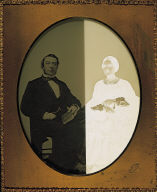 Portrait of an unidentified couple