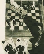 Cards, Chessboard, Hands