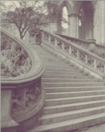 The Steps to the Scott Memorial